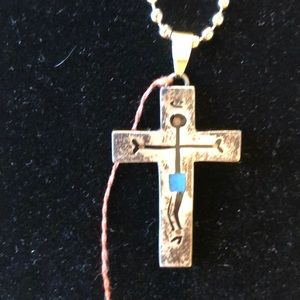Vintage Taxco 925 Sterling Silver Cross